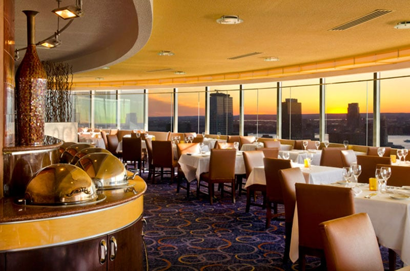 The View Restaurant Lounge Times