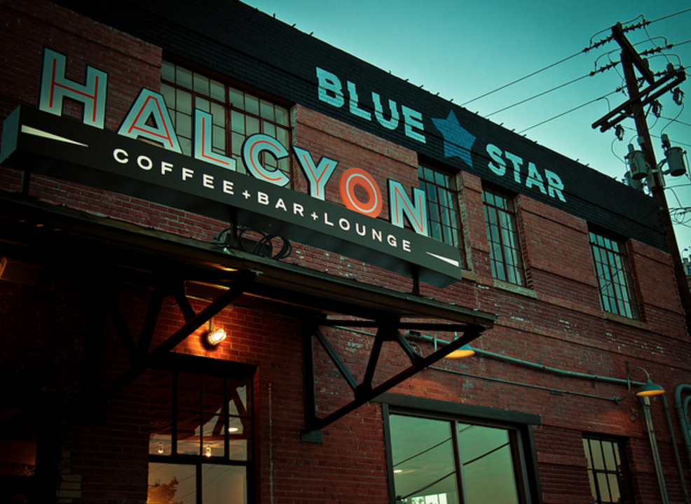 Halcyon bistro and coffee house bar southtown and for King s fish house happy hour